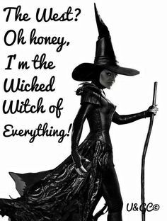 Discover and share Wicked Witch Quotes. Explore our collection of motivational and famous quotes by authors you know and love. Soirée Halloween, Halloween Pictures, Halloween Cards, Vintage Halloween, Witch Quotes, Witch Meme, Wizard Of Oz Quotes, Funny Quotes, Funny Memes