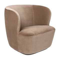 Gubi Stay Lounge Chair chair diy Contemporary Stay Lounge Chair in Cotton Velvet with an Optional Swivel Upholstered Arm Chair, Chair Upholstery, Chair Fabric, Armchair, Eileen Gray, Modern Swivel Chair, Modern Chairs, High Chairs, Eames