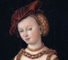 Cranach ear-flap hat (No source, may have to google to find original)