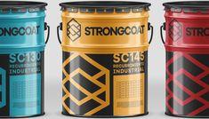 StrongCoat on Behance