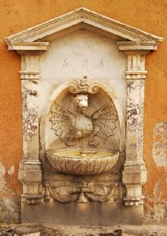 Fountain of the Dragon, Via della Conciliazione, Rome.
