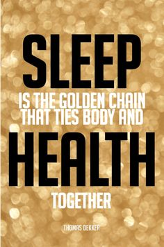 """72 inspirational good night and sleep quotes for a healthy dose of rest - """"Sleep is the golden chain that ties health and our bodies together."""" – Thomas Dekker Click through for all 72 inspirational sleep quotes! Rest Quotes, Habit Quotes, Life Quotes, Quotes Quotes, Cute Sleep Quotes, Funny Quotes, Good Sleep, Sleep Well, How To Get Better"""
