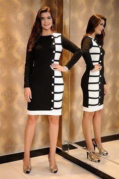 Vestido Contemporâneo- Cassia Segeti Plus Size Dresses, Cute Dresses, Short Dresses, Dresses For Work, Dress Outfits, Fashion Outfits, Womens Fashion, Mein Style, African Fashion Dresses