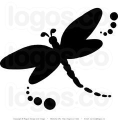Royalty-free (rf) stock logo clip art illustration of a black dragonfly silhouette icon. This insect stock logo image was designed and digitally rendered by Pams Clipart. Dragonfly Clipart, Dragonfly Images, Dragonfly Tattoo, Dragonfly Quotes, Free Stencils, Stencil Templates, Templates Printable Free, Stencil Patterns, Dragonfly Silhouette