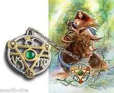 ELEMENTAL EARTH TALISMAN PENDANT + CARD & ENVELOPE Wicca