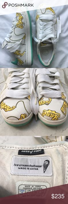 new style 8806e 51685 RARE Reebok Ice Cream Footwear Pharrell Williams Rare, limited edition sold  out Reebok Sneakers from