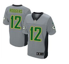 It's time to put on your favorite Packers Aaron Rodgers Nike jersey to support this football star at this NFL season beginning. Fell like part of Green bay Packers by wearing this Mens Nike Green Bay Packers Aaron Rodgers Limited Grey Shadow NFL Jersey, which will make you look just like Aaron Rodgers. This Mens Nike Green Bay Packers Aaron Rodgers Limited Grey Shadow NFL Jersey design tailored to fit for quick moves, with ventilation strategically placed for more breathability.