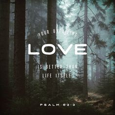 Because your steadfast love is better than life my lips will praise you. So I will bless you as long as I live; in your name I will lift up my hands. Psalms 63:3-4 ESV