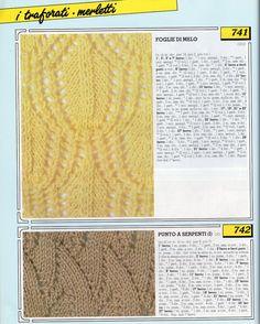 lo spazio di lilla: Collezione punti ai ferri 13 / Knitting stitches c...
