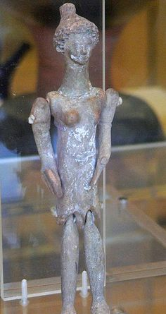 Greek jointed doll or figurine University of Pennsylvania Museum of Archeology