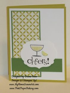 Happy Hour Margarita by dboos - Cards and Paper Crafts at Splitcoaststampers