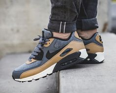 New NIKE Air Max 90 Wool Mens gray beige sneaker all sizes Beige Sneakers, Air Max Sneakers, Sneakers Nike, Tenis Nike Jordan, New Nike Air, Nike Air Max, Fresh Shoes, Baskets, Sneakers Fashion