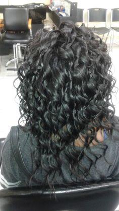 Wond curls