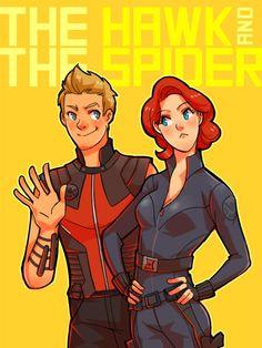 Hawkeye & Black Widow, The Avengers
