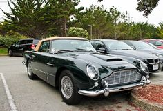 Only 123 convertibles were ever made. This beautiful car was in the back parking lot for the Spanish Bay Inn. Aston Martin Cars, Aston Martin Lagonda, Automobile Companies, Manual Transmission, Chevrolet Corvette, Super Cars, Convertible, Classic Cars, Vehicles