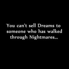 True, for they know now for certain.. good dreams are a blessing..