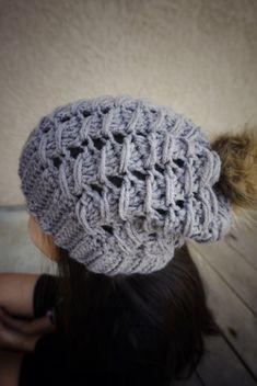 The Venture Slouchy Crochet Beanie
