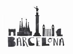 Автор Calligraphy Animals представил новую серию иллюстраций — Эндрю Фокс создал серию работ Calligraphy Cities.