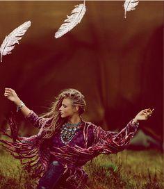~ɲαɬųɽҽ ƈɧᎥℓɖ.•*☮ #bohemian ☮k☮ #boho #feathers