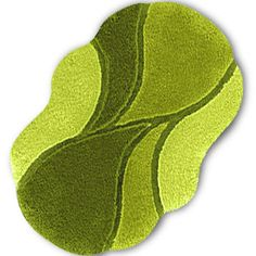 Green Bath Rugs ~ http://modtopiastudio.com/choosing-the-tropical-bath-rugs-to-decorate-the-bathroom/