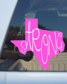 Check out this item in my Etsy shop https://www.etsy.com/listing/541045384/texas-strong-decal-5-x-5texas