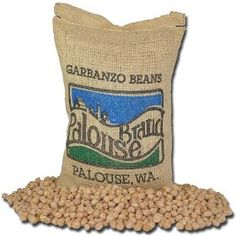 #9: Garbanzo Beans | 100% USA Grown | Identity Preserved (We Tell You Which Farm We Grew It In) | 5 Lbs | GMO Free