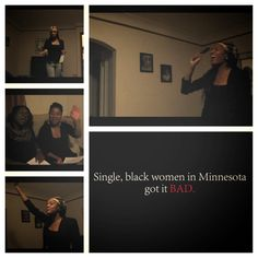 Welcome to the 54th chapter of the Society of Single Black Women in Minnesota.  The first of many to come for the 'That's dating life in Minnesota Parody' to help promote our latest True Philia Productions film in pre-production titled the Dating Game. For more information visit truephilia.wix.com/truephiliaproduction Donations are accepted through our paypal account by following this link: paypal.com/cgi-bin/webscr?cmd=_s-xclick&hosted_button_id=5TVF3P25BEHLS