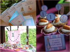 "Photo 1 of 9: Beatrix Potter / Peter Rabbit / Jemima Puddle Duck / Mrs Tiggywinkle / Birthday ""Scarlett-May's Beatrix Potter 1st Birthday Party"" 
