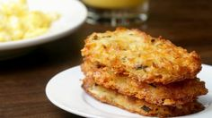 A diabetic friendly Hash Brown Potato Cakes recipe! Only 9g of carbs. #bosshashbrowns