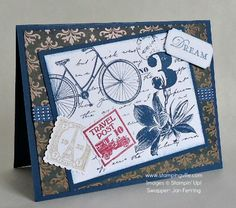 Postage Due Stamp Set by Stampin' Up! | Cards