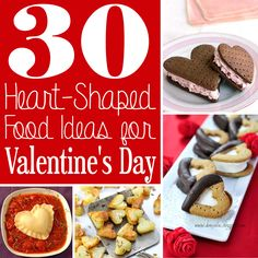 30 Heart-Shaped Food Ideas for Valentine's Day