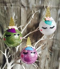 A personal favourite from my Etsy shop https://www.etsy.com/uk/listing/528506780/unicorn-christmas-tree-decorations