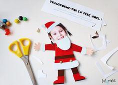 Transformez vos enfants en lutins du Père Noël, version articulé !Les bouilles joyeuses de nos enfants se prêtent particulièrement bien à ce bricolage. Imprimez notre pantin lutin, une photo et à vous la rigolade !
