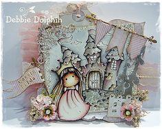 Magnolia cards by Debbie: Tilda In Cotton Dress