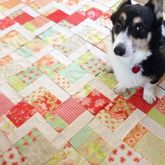 Stairway to Heaven Quilt Tutorial - Quilting In The Rain