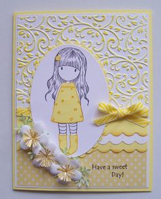 I love these little Gorjuss Girls, Suzanne Woolcott is the wonderful artist, who unfortunately has not been well and is now struggli...