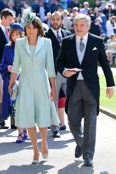 Carole Middleton & Michael Middleton @ Royal Wedding