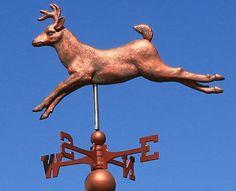 "Large ""Deer"" Weathervane w Directionals 1031   eBay"