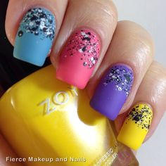 Instagram photo by fiercemakeupandnails #nail #nails #nailart