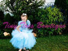 Disneys Princess Cinderella  Inspired Tutu Dress by Tiny Toes Bowtique, $49.00.  www.facebook.com/tinytoesbowtique2010