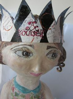 Paper Mache Art Doll