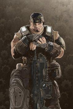 Marcus Fenix - Gears Of War 3 - Mik4g.deviantart.com