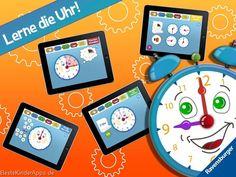 Meine erste Uhr Kinder App Ravensburger (2)
