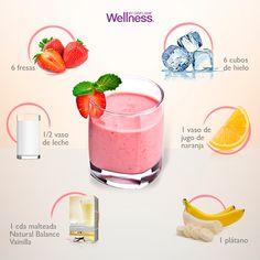 ¡No hay nada mejor que empezar tu día con #WellnessByOriflame! Cuéntanos, ¿tú como preparas tu Wellness Shake?