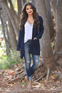 43 trendy spring outfits ideas for women page 31 Fall Fashion Outfits, Fall Fashion Trends, Spring Outfits, Autumn Fashion, Womens Fashion, Fashion Ideas, Ladies Fashion, Winter Outfits, Winter Trends