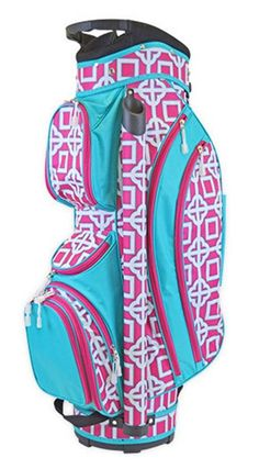 Charmer Pink All For Color Ladies Cart Golf Bag at #lorisgolfshoppe