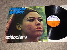 ETHIOPIANS - Reggae Power - UK VINYL LP - TROJAN TTL 10