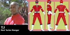 Theodore J. Jarvis Johnson (Red Turbo Ranger) - Power Rangers Turbo | Power Rangers Central