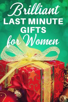 Last Minute Christmas Gifts For Women