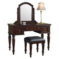 3-Piece Lafayette Vanity Set in Cherry